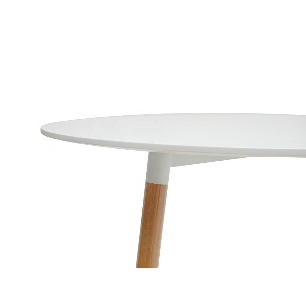 Table Rond Scandinave Table Ronde Scandinave Blanche 6 Personnes